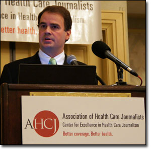 Lemole spoke to health journalists at AHCJ's annual conference.