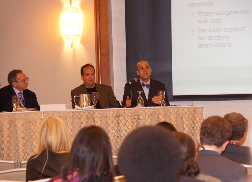 "<span class=""credit"">Photo by Pia Christensen</span>Farzad Mostashari, M.D., Sc.M., the national coordinator of health information technology, advocated that the nation's investment in health information technology is necessary to fix the health care system."