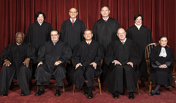 By Steve Petteway, Collection of the Supreme Court of the United States (Roberts Court (2010-) - The Oyez Project) [Public domain], via Wikimedia Commons