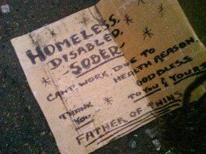 Photo: Discarded Sign via photopin (license)