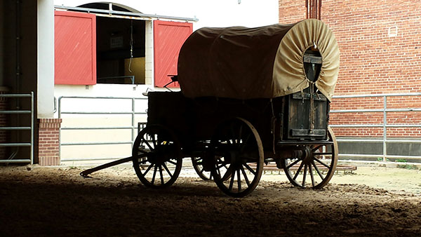 Transportation and other social determinants of health are covered in the Rural Assistance Center's recently updated guide on the topic. Seen here is an older form of rural transportation from Fort Worth, Texas, where AHCJ recently held a workshop on rural health issues.