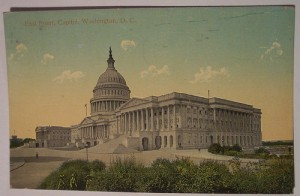 "Vintage Postcard Capitol, ""Washington D. C. "" via photopin (license)The East Front of the U.S. Capitol in Washington, seen here in a vintage post card."