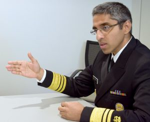 Photo: Pia Christensen/AHCJU.S. Surgeon General Vivek Murthy has launched a campaign to address the epidemic of opioid addiction.