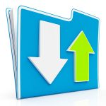 downloading-and-uploading-data-icon