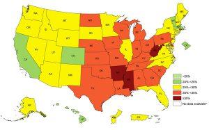Source: Behavioral Risk Factor Surveillance System, CDC