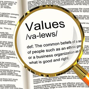 values-definition
