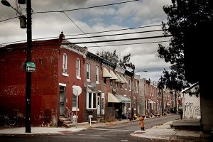 Photo: Jessica GriffinMore than 90 percent of the houses in Philadelphia were built before the 1978 lead paint ban. One here on Bonitz Street belonged to a family featured the Philadelphia Daily News' project.