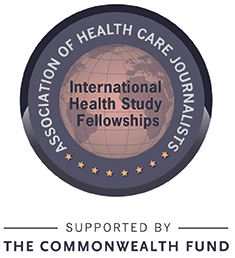 Logo: AHCJ International Health Study Fellowships