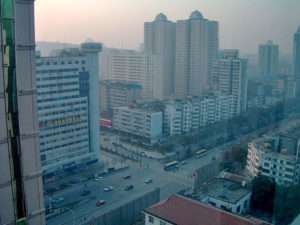 Wuhan is about 200 miles south of Beijing and is a major transportation hub in the country.