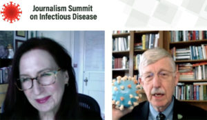 NIH director speaks to AHCJ Summit on Infectious Diseases