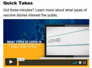 One of the video resources available at the NAB-RJI Vaccine Education Toolkit.