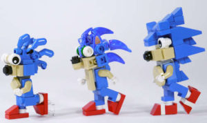 Sonic the Hedgehog legos