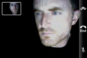 Facetime call screen