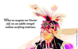 Warriors Against Trauma poster from a past National Children's Mental Health Awareness Day campaign