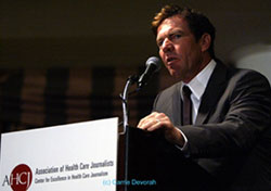 Actor Dennis Quaid at Health Journalism 2008