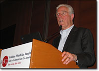 Uwe Reinhardt was a keynote speaker at Health Journalism 2009.