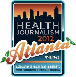 Health Journalism 2012 logo