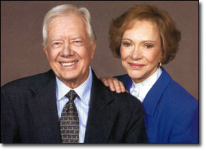 Jimmy & Rosalynn Carter