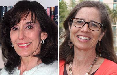 Jeanne Erdmann and Mary Shedden