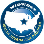 Midwest Health Journalism Program logo
