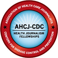 AHCJ-CDC Health Journalism Fellowships logo