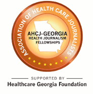 AHCJ-Georgia Health Journalism Fellowship logo