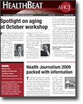HealthBeat Summer-Fall 2009 cover