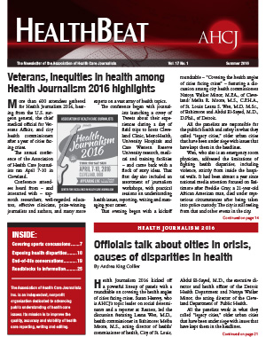 Summer 2016 HealthBeat