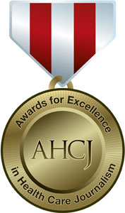 Logo: Awards for Excellence in Health Care Journalism