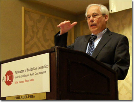 In a Newsmaker Briefing at Health Journalism 2011, CMS Administrator Don Berwick unveiled a website on health data.